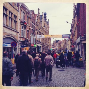 Crowds in Ypres
